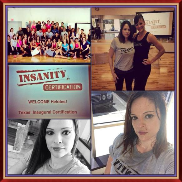 INSANITY CERTIFICATION